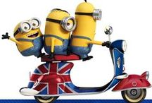 Minion Madness / Check out all our NEW and OFFICIAL Minion Greeting Cards, Sound Cards, Gift Wrap and Gift Bags