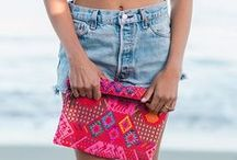 One-of-a-Kind Bags / Each of these gorgeous bags is one-of-a-kind and handmade in Guatemala. Order your favorite today because once it's gone it's gone.