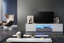 Grautöne / Shades of Grey / Möbel in grau sind die absoluten Kombinationswunder. Ob knallige Farben, schwarz, weiß oder Metalltöne - alles passt perfekt. vladon.de