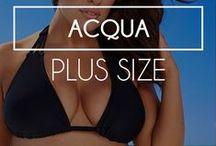 Acqua: Plus Size / Uma beleza sem tamanho!! <3 #dechelles #plussize #plus #plusfashion #beachwear #plusbeachwear www.dechelles.com.br vendas@dechelles.com.br