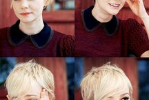 actresses + pixie cut