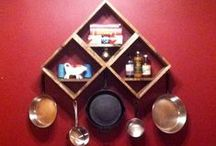 IMPETUS Shelving, Storage & Stuff 1 of 2 / shelving ideas and how-tos / by karen campbell