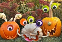 MYRIAD Punkins / pumpkin and jack-o-lantern ideas and how-tos / by karen campbell
