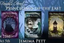 Books: The Princelings of the East Series / Books by me.  The Princelings of the East trilogy and series and maybe others I haven't written yet.  I'm planning one which will be a modern-day Black Beauty, with a racehorse as the main character.