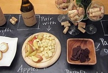 Wine & Cheese Party / Two of the best things on earth...wine and cheese of course! Let's throw a party!