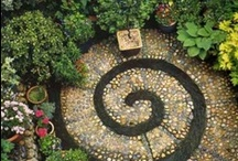 The enchanted garden / Paradise gardens, permaculture self- sufficient homesteads and spaces of Love.