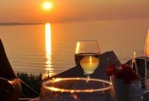 "Restaurant KOHILI / In our ""a la Carte"" restaurant, guests can enjoy a romantic candlelit dinner in a wonderful open-air veranda with view to the sunset of Corfu and the small islands of Diapontia, the northernmost islands of the Ionian Sea. http://goo.gl/ssIf3X"