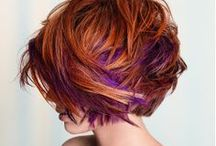 dream in color / Not-your-natural extreme and vibrant color / alternative color placement