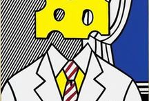 Pop Art / A selection of Pop Art works and artists.