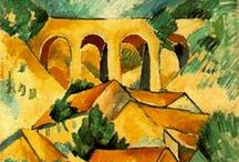 Cubism / A selection of Cubism artworks and artists.