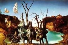Surrealism / A selection of Surrealism artworks and artists.