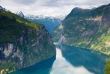 My Norway / I'm lucky to live in one of the most beautiful parts of Norway, the north west fjords.