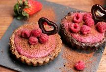 Healthy delicious sweets / Mostly raw, vegan, paleo, gluten-, dairy- and sugarfree