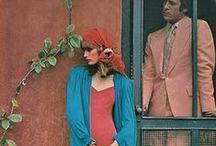Années 70 / YSL - Imprimés - couleurs