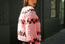 KNITOMANIA / knitwear knit colours looks