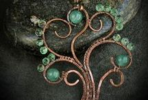 Crafts: Wire wrapping and jewelry