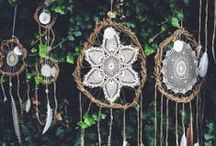 Crafts: Dreamcatchers and wallhangings