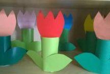Kwiaty / Kwiaty do wykonania przez dzieci
