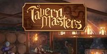 Tavern Masters Card Game / Artwork from the fantasy card game Tavern Masters by Dann Kriss Games. Art by Galen Ihlenfeldt. http://www.TavernMasters.com