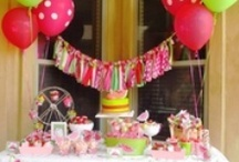 Birthday Party Ideas / by Rebecca Baine
