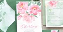 Invitation & Stationery / Innovative Save The Date ideas, wedding invitations, envelopes, guest books, menus  and any other beautiful wedding stationery!