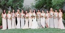 Bridesmaids / Bridesmaid style and inspiration from Jewish wedding blog - Smashing The Glass