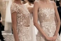 Bridal Inspiration / Pictures of gorgeous bridal and evening gowns.
