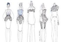 Portfolio inspo / Inspiration for fashion portfolio and fashion drawing