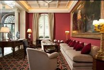 Hotel / The Hotel Regency overlooks the beautiful Piazza D'Azeglio, monasteries, ancient cloisters and world famous museums. The luxury of a 5 star hotel and the welcome of a private manor estate present the perfect location for travelers seeking an evocative experience accompanied by world class gastronomy, bespoke service and comfort. / by Hotel Regency Firenze