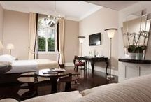 Suite & Junior Suite / Exquisitely furnished rooms reflect the elegance and style of the Regency period and the welcoming atmosphere of a charming Florentine villa. Turn the clock back to a time when intricate tapestries and graceful draperies adorned the rooms of the eminent citizens of Florence. Each of our room has a distinctive design whilst sharing every modern amenity and comfort. / by Hotel Regency Firenze