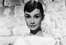 "Audrey Hepburn / ""Happy girls are the prettiest girls."""