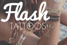 Flash Tattoos: Add some flash to your style! / #flashtattoos #tattoo #jewelry #metallic #silver #gold #temporarytattoo #bracelets #shiny #style #fashion #new #trend #palmtrees #feather #wave #sand #photography #swim #ocean #breeze #necklace #rings #henna #tat #trendy