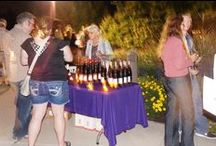 Wine Tasting & Luminary Walk / Take a stroll through our illuminated paths while enjoying an evening wine tasting in the beautiful Fountain Garden. Twinkling lights, hors d'oerves and live music complete the evening.  / by Klehm Arboretum & Botanic Garden