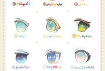 Manga eyes reference