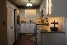 CotY National Winner Kitchen Remodel Under $30,000 / These are the after pictures for our entry to the CotY Remodel Contest. If you like this kitchen, give us at Cabinet Reface a call at: 913-894-8455!
