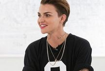 "Ruby Rose / ""Only you know who you were born to be, and you need to be free to be that person."""