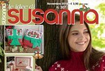 LE IDEE DI SUSANNA č. 307 listopad 2015 / Italský časopis pro ruční práce: křížková výšivka, pletení ke koupi na www.finery.cz