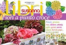 LIBRI DI SUSANNA č. 5 září 2015 / LIBRI DI SUSANNA září 2015 - italský časopis speciálně pro křížkovou výšivku. Podzimní číslo časopisu s motivy jarních květů. Ideální pro ty, které rády vyšívají s předstihem nebo se při práci těší, až zima skončí. Časopisy jsou k dispozici na http://www.finery.cz/#!product/prd1/2796530331/i-libri-di-susanna