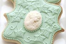 Royal Icing / mit Royal Icing verzierte Kekse und Torten sind super hübsch - hier auf dem Board findet ihr schöne und kreative Ideen zum Nachmachen