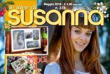 LE IDEE DI SUSANNA č. 313 květen 2016 / Italský časopis pro křížkové vyšívání a pletení. e-shop www.finery.cz