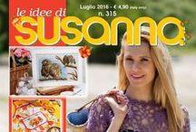 """LE IDEE DI SUSANNA č. 315 červenec 2016 / """"Susannu"""" není třeba představovat - tentokrát na téma léto"""