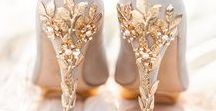 Bridal Shoes / We love shoes - who doesn't? | http://www.smashingtheglass.com/