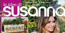 LE IDEE DI SUSANNA č. 321 - leden 2017 / Italský časopis - měsíčník - pro křížkovou výšivku a pletení - předplatné na www.finery.cz