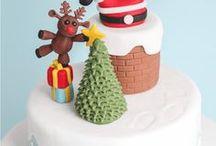 Torten zu Weihnachten / Torten und andere süße Sachen rund um Weihnachten