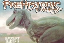 Prehistoric Times / Artwork from Prehistoric Times Magazine