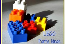 Lego party / Lots of ideas to help you plan a LEGO theme party