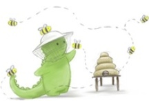 childrens pictures - bees