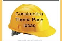 Party Themes for Boys / Lots of great boys' party themes and ideas to help you plan a great celebration.