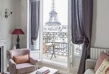 Our Paris Apartments / Take a peek inside some of our charming vacation rentals in Paris. Lots of fabulous Eiffel Tower views and romantic Parisian decor! The perfect place to stay for those wanting to live like a local!