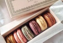 For the Love of Macarons / The perfect little Parisian sweets - small, cute, pastel colored and they come in so many flavors! Our favorites are Ladurée and Pierre Hermé.